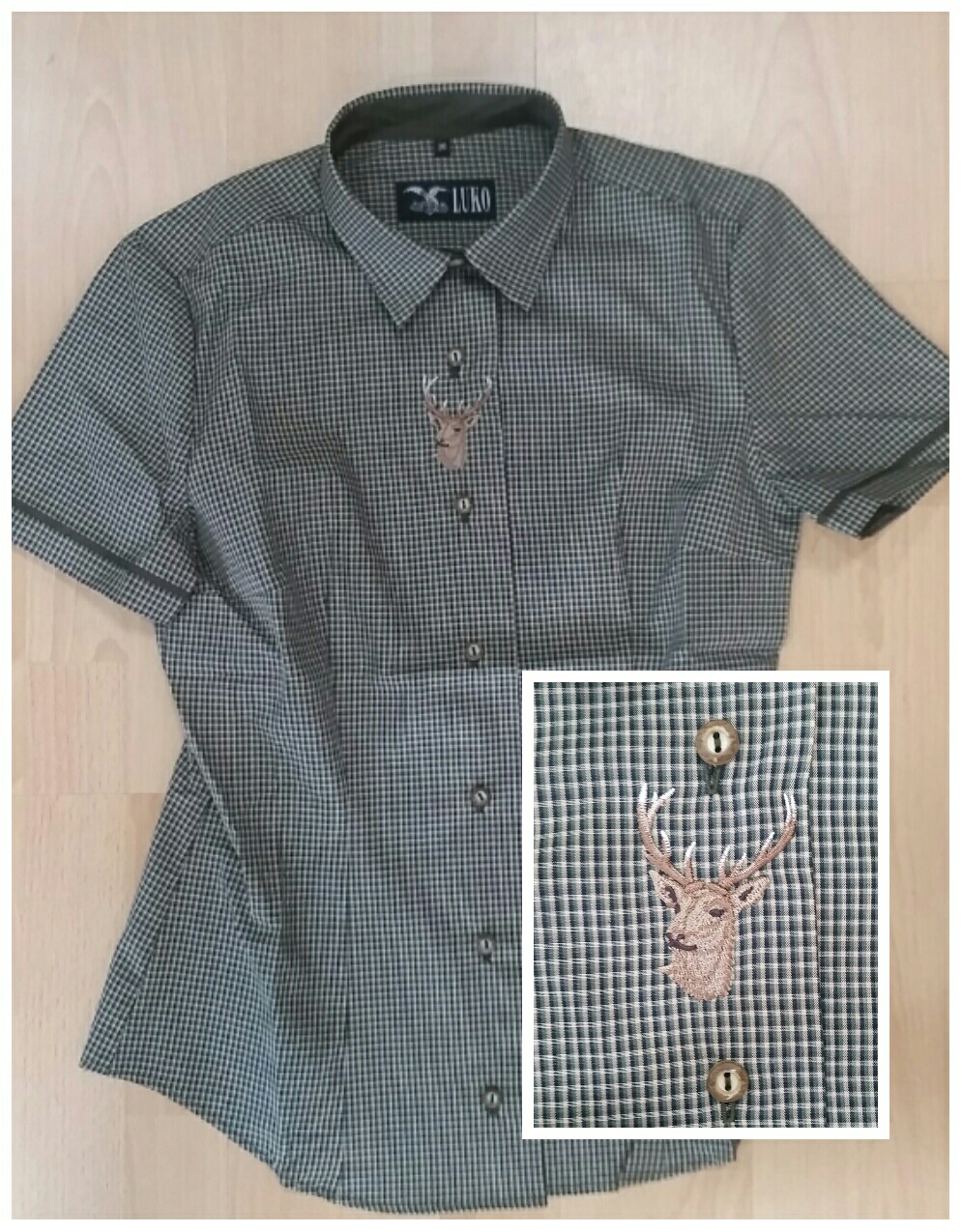 b4a1f903adb Dámská košile Luko 154118 vel.38 - Myslivecké a lovecké oblečení a ...